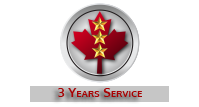 3 Years Service