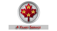 4 Years Service