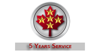 5 Years Service