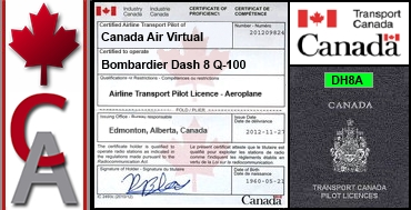 Bombardier Dash 8 Q-100 Certification Flight