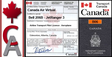 Bell 206B JetRanger 3 Certification Flight